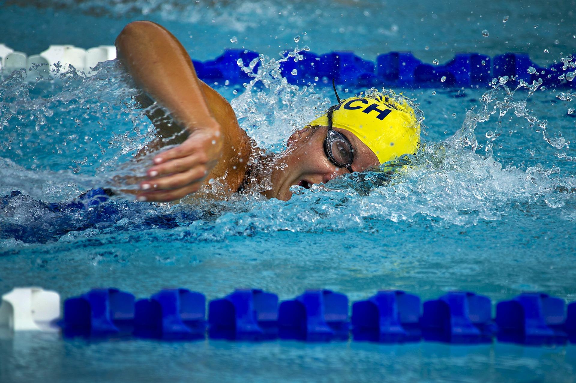 Entrainement de natation En Equilibres Diététicien Nutritionniste Lucas Jaron Saint-Malo